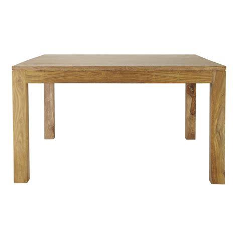 table salle a manger massif table de salle 224 manger en bois de sheesham massif l 140 cm stockholm maisons du monde
