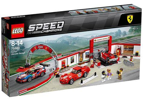 Lego speed champions le stand ferrari. LEGO 6212628 75889-1 Speed Champions Ferrari Ultimate Garage