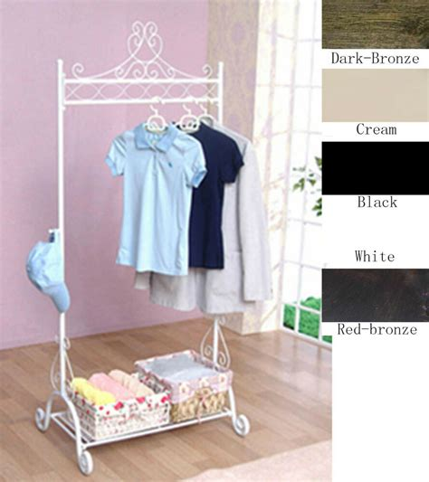 Wardrobe For Hanging Clothes by Vintage Style Wardrobe Coat Clothes Clothing Hanging Rail
