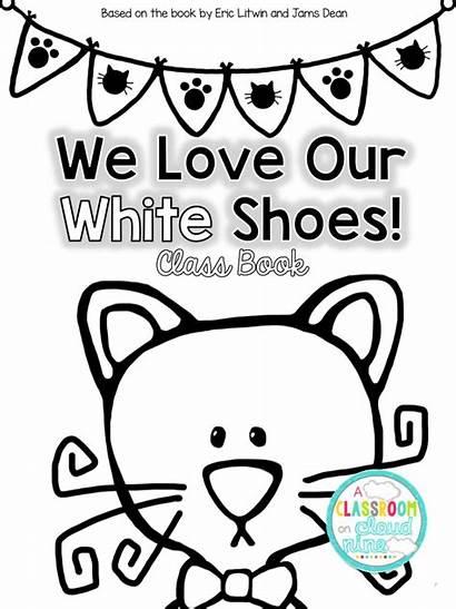 Pete Shoes Cat Nine Classroom Cloud Kindergarten