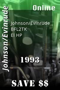 1993 Bfl2tk Johnson  Evinrude Et Elhp Electric Outboard