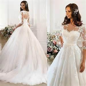 wedding dresses on a budget vintage wedding dresses 2015 cheap illusion applique chapel tulle ivory lace gown