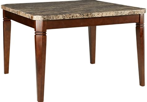 wood counter height dining table edenton merlot square counter height dining table dining