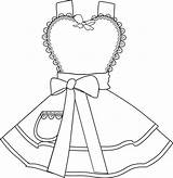 Oven Coloring Mitt sketch template