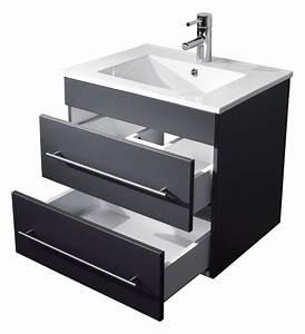 meuble salle de bain milet anthracite satine emotion 24fr With avis meuble salle de bain emotion 24