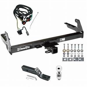 Trailer Tow Hitch For 2004 Dodge Dakota Complete Package W