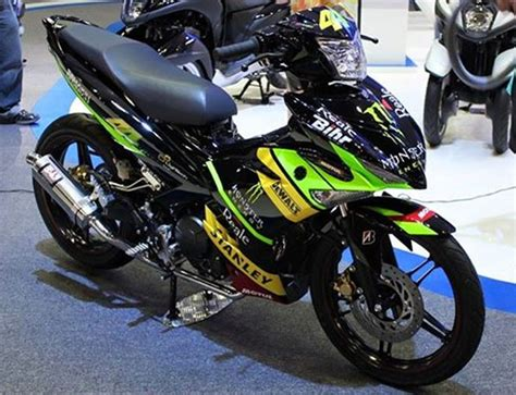 Modif Rx King Gagah by 50 Gambar Modifikasi Yamaha Mx King 150 Gagah Sporty