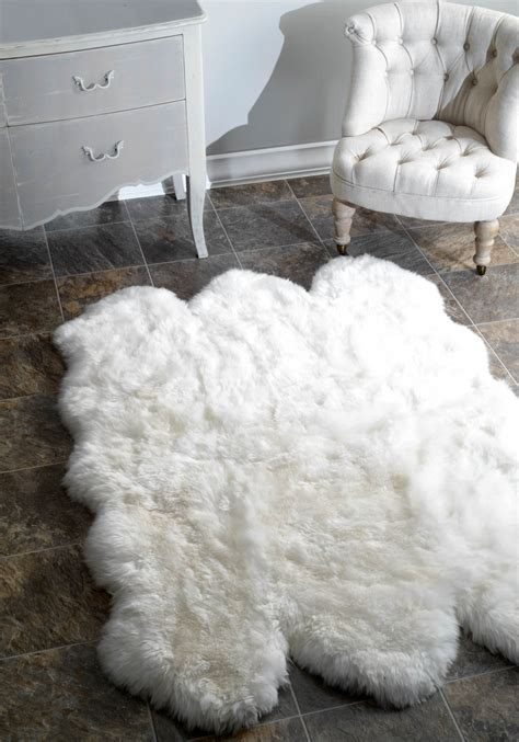 floor bring  timeless touch  warmth  luxury   home  faux fur rugs sunshine