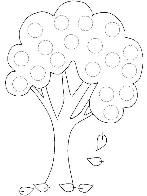 Apple Tree Template Printable