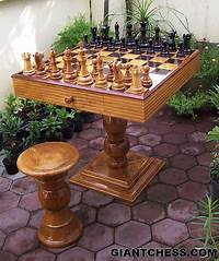 outdoor chess table Outdoor Chess Table | Flickr - Photo Sharing!