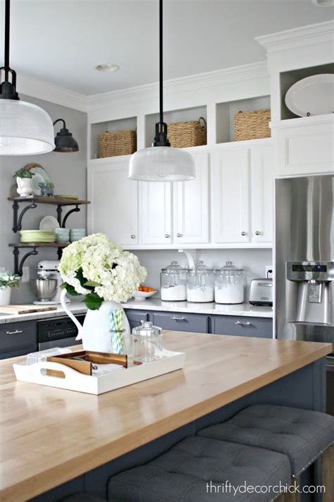 shelves above kitchen cabinets discover 10 new ways to decorate above your kitchen 5181