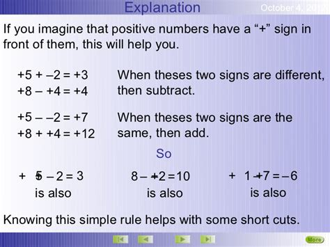 Math Worksheets Multiplying Positive And Negative Numbers  Integer Worksheets By Math