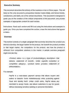 Resume Executive Summary Exle by 19 Best Executive Summary Templates Images Executive