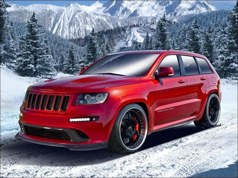 jeep grand cherokee srt  hennessey review top speed