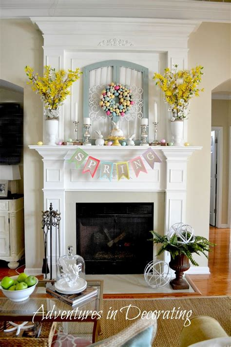 Fireplace Mantel Decor - 1000 ideas about fireplace mantel decorations on