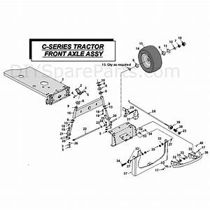 Countax C Series Kawasaki Lawn Tractor 2010  2010  Parts Diagram  Mk Front Axle Assembly