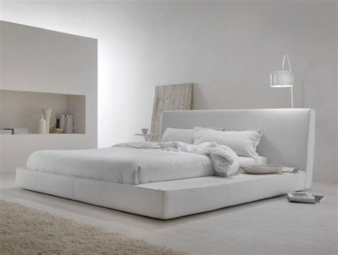 snow white contemporary bedroom interiorzine
