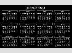 Calendario 2018 2018 Calendar printable for Free