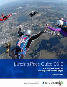 White Paper  Landing Page Guide 2013