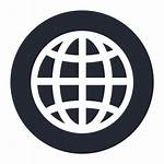 Wide Icono Globo Icon Dunia Ikon Gratis