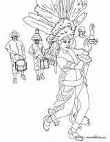 Parade Rio Carnival Coloring Pages Samba Getdrawings sketch template