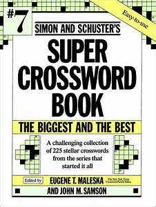 Simon  U0026 Schuster Super Crossword Book  Volume 7 By Eugene
