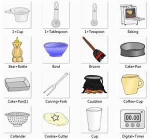 Cup, Tablespoon, Teaspoon, Baking, Bear Bottle, Bowl ...