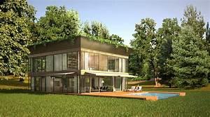 maison passive ecologique modulaire With maison en l avec tour 6 les maisons les plus bizarres du monde