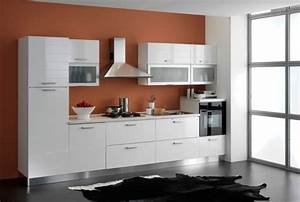 peinture cuisine avec meubles blancs 30 idees inspirantes With kitchen colors with white cabinets with qr code stickers