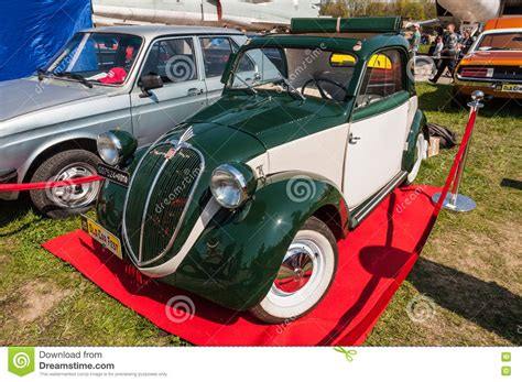 Fiat Meaning Italian by Italian Fiat 500 Topolino Vintage Car Editorial Stock