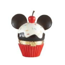 lenox disney mickey cupcake treasure box