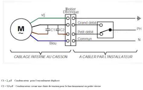 réduire vitesse VMC avec condensateur Forum Ventilation