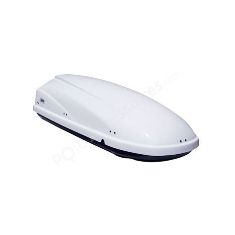 coffre de toit 460 litres travel blanc pole accessoires