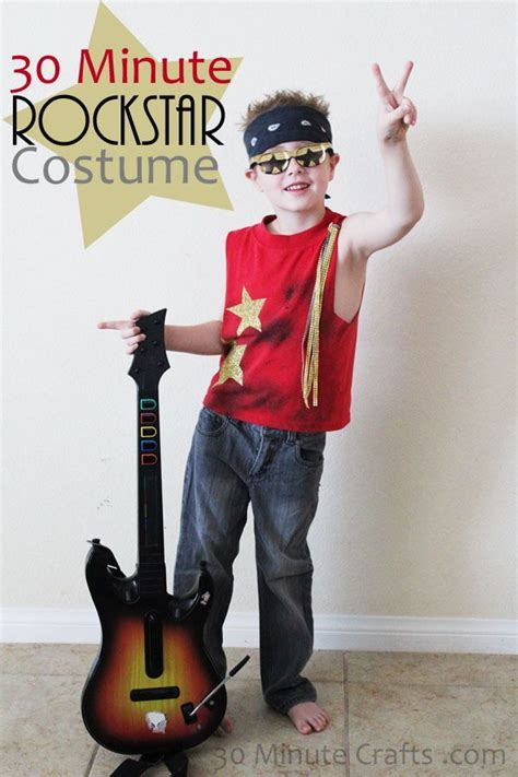 30 Minute Rockstar Costume | Halloween | Pinterest | Costumes Halloween costumes and Diy costumes