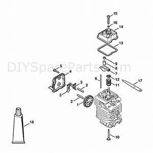 Stihl Km 130r Engine  Km 130r  Parts Diagram  Valve Timing