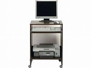 petite console informatique With meuble bureau informatique conforama