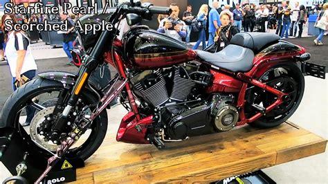 2017 Cvo Pro Street Breakout Harley-davidson │all 3 Colors