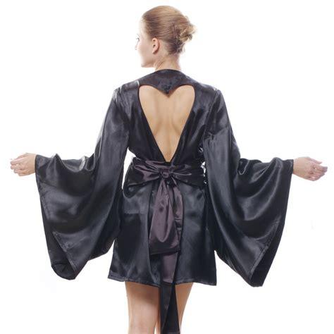 peignoir de chambre femme achetez en gros satin kimono robe en ligne à des