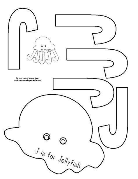 j is for jellyfish check out the website for more work