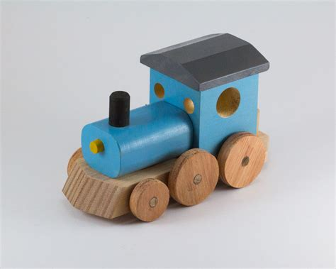colourful wooden toy trains warawood shed