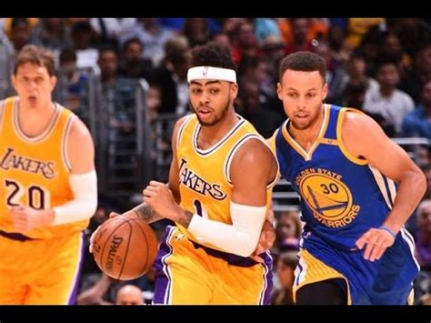 lakers beat warriors full game highlights november