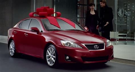 lexus christmas question of the day did anyone really get a new car for