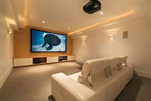 Home Theater Ideas for Simple Application - HomeStyleDiary com