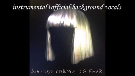 Sia Chandelier Official by Sia Chandelier Instrumental Official Background Vocals