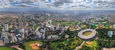 jakarta indonesia  aerial panoramas  virtual