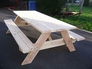 Table Picnic Bois Pas Cher : table picnic table de jardin pas cher ~ Melissatoandfro.com Idées de Décoration