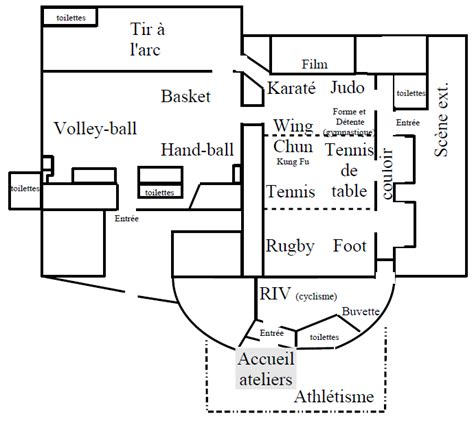 plan salles