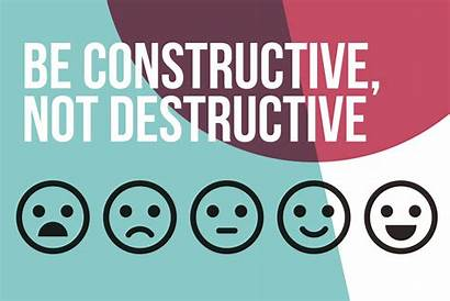 Constructive Feedback Leaders Message Destructive Give Inspires