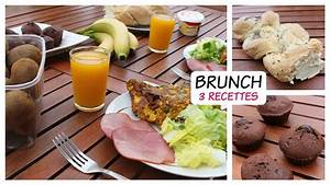 BRUNCH SUCRSAL 3 Recettes Faciles YouTube