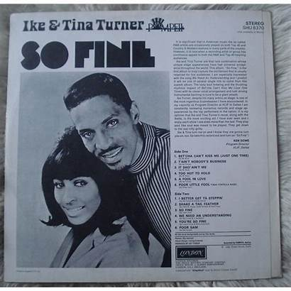 Tina Turner Ike Fine Lp Geminicricket Cdandlp